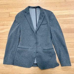 ASOS Soft Knit Casual Grey Blazer